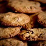 Cranberry walnut cookies Royalty Free Stock Photo