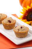 Cranberry-walnut muffins Royalty Free Stock Photos