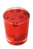 cranberry woda Fotografia Royalty Free