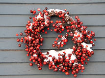 Cranberry Wreath Royalty Free Stock Image