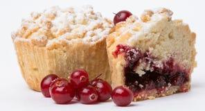 cranberry z babeczką obrazy royalty free