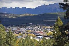Cranbrook, Britisch-Columbia, Kanada Lizenzfreie Stockbilder