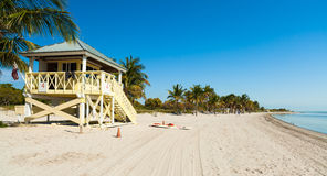 Crandon Park Beach Stock Photography