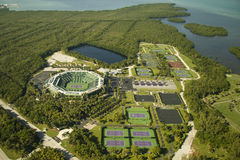 Crandon Park Tennis Center  Royalty Free Stock Photo