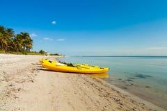 Crandon parkerar stranden royaltyfri foto