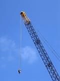 Crane. Against a blue sky Stock Image