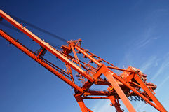 Crane 2 Royalty Free Stock Photo