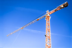 Crane Royalty Free Stock Photo