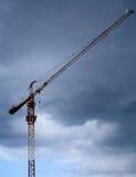 Crane 3. Construction crane Royalty Free Stock Photography