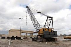 Crane. Construction crane Royalty Free Stock Image