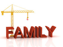 Crane 3d Stock Image
