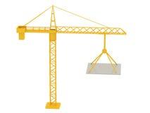Crane 3d Royalty Free Stock Image
