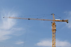 Crane. Building crane and the sky Stock Photography