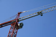 Crane. On construction of building Stock Photos
