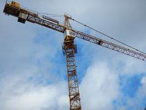 The crane. Royalty Free Stock Photography