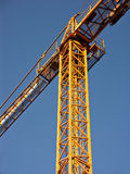 Crane. Jib crane royalty free stock photography