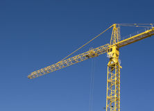Crane against Blue Sky Stock Photos