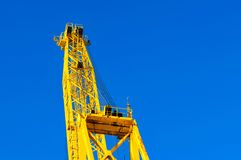 Crane, Ancona Italy Royalty Free Stock Images