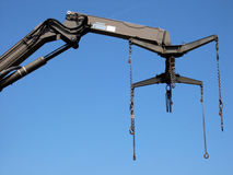 Crane arm Royalty Free Stock Images