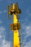 Crane Arm In Sunset Light Imagenes de archivo