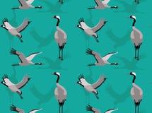 Crane Background Seamless Wallpaper comum Fotografia de Stock Royalty Free