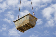 Crane basket2 Royalty Free Stock Photos