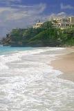 Crane Beach Barbados royalty free stock photos