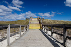 Crane beach, Ipswitch, Massachusetts, USA Royalty Free Stock Photo