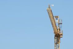 Crane on blu Royalty Free Stock Images