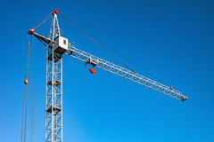 Crane. Blue sky. Stock Photography