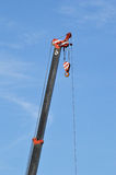 Crane with blue sky. Element of design Royalty Free Stock Image