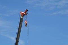 Crane with blue sky Stock Image