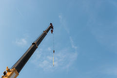 Crane on the blue sky Royalty Free Stock Images