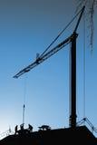 Crane blue sky Royalty Free Stock Photos