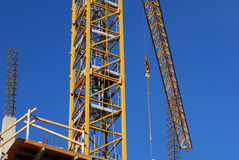 Crane boom Royalty Free Stock Photos