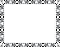 Crane Border. Black and white construction crane frame Stock Images