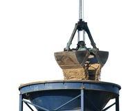 Crane Bucket Royalty Free Stock Photography