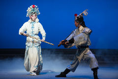 """The crane bucket-The fifth act Steal immortal-Kunqu Opera""""Madame White Snake"""" Royalty Free Stock Images"""