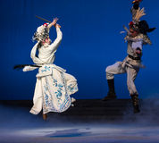"""The crane bucket-The fifth act Steal immortal-Kunqu Opera""""Madame White Snake"""" Stock Photos"""