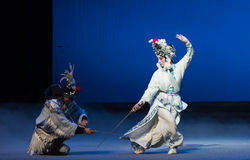 """The crane bucket-The fifth act Steal immortal-Kunqu Opera""""Madame White Snake"""" Royalty Free Stock Photography"""