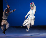 """The crane bucket-The fifth act Steal immortal-Kunqu Opera""""Madame White Snake"""" Stock Photo"""