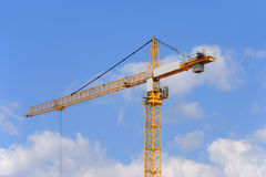 crane budowlanych Obraz Royalty Free