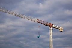 crane budowlanych Zdjęcie Stock