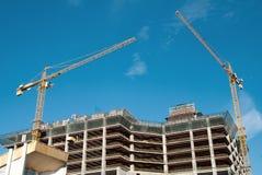 crane budowlanych Obrazy Stock