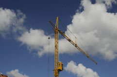 crane budowlanych Fotografia Royalty Free
