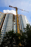 crane budynku. Zdjęcia Stock