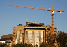 Crane and building Stock Image