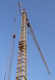 Crane and building Royalty Free Stock Photography