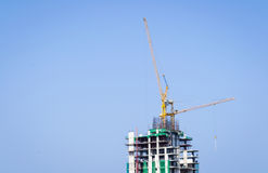 Crane is building Stock Images