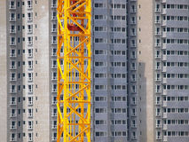 Crane and building Royalty Free Stock Photo